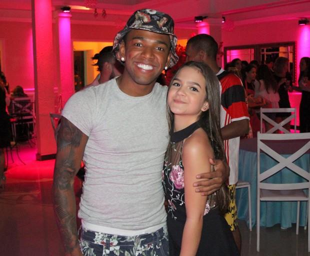 Mel Maia e Nego do Borel (Foto: AGnews)