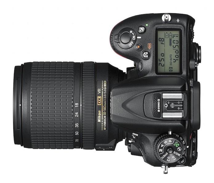 Corpo da D7200 é praticamente o mesmo da D7100 (Foto: Divulgação/Nikon)