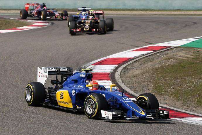 Felipe Nasr no GP da China (Foto: Divulgação)