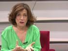 Miriam Leitão analisa mau desempenho da economia brasileira