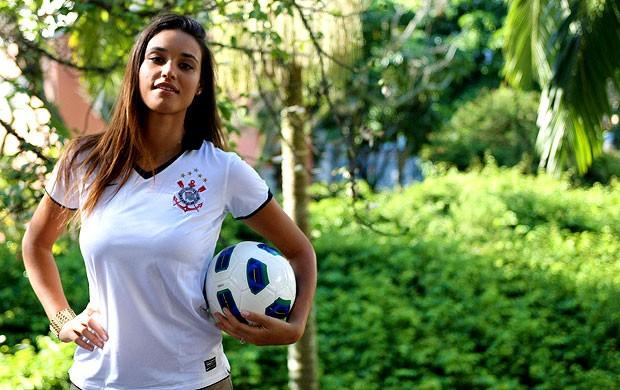 CARROSSEL - Débora nascimento jogo inesquecível (Foto: Marcelinho de Jesus / Globoesporte.com)