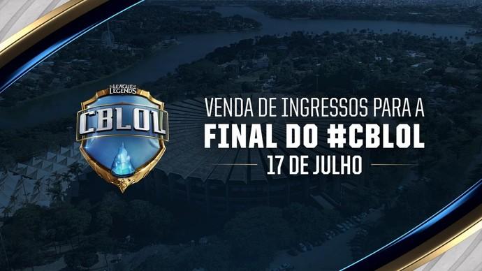 CBLOL 2017 - Segunda Etapa: venda de ingressos começa no dia 17