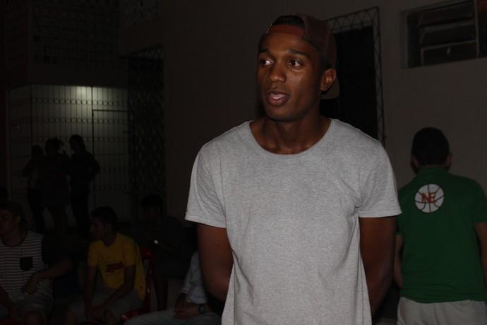 João Vitor, filho de Valter Maranhão (Foto: Francisco Filho)