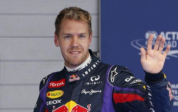 Sebastian Vettel garantiu mais uma pole position, na Coreia do Sul (Foto: Reuters)