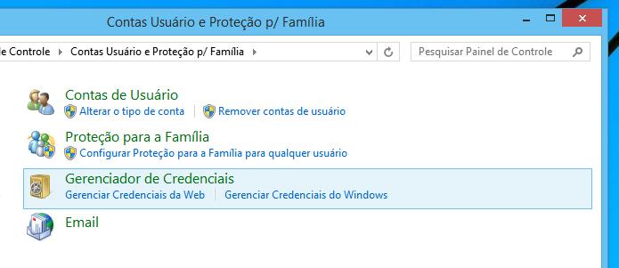 Acesse as credenciais do Internet Explorer (Foto: Reprodução/Helito Bijora)