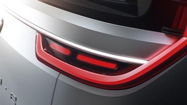 Teaser revela um pouco do novo conceito da Volkswagen para CES (Foto: Volkswagen)