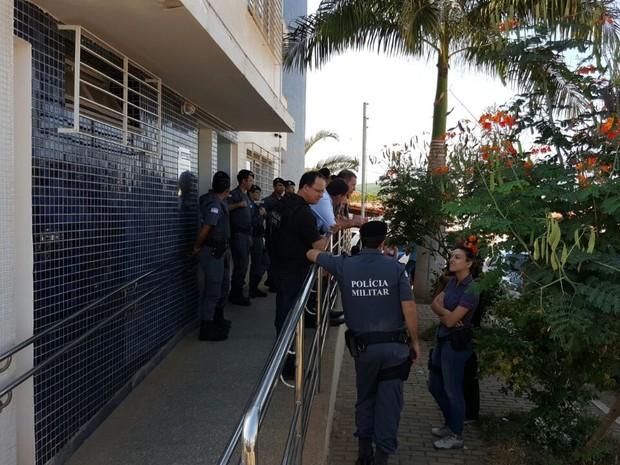 90 policiais participam de operação em Pinheiros (Foto: Divulgação/ Sesp)