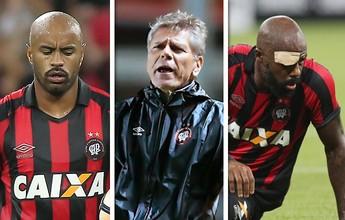 Preparo, G-8 e correções: desafios do Atlético-PR na pausa da Libertadores