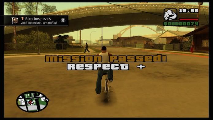 Ports de PS2 têm suporte para trofeus e gráficos em 1080p (Foto: Reprodução/Victor Teixeira)