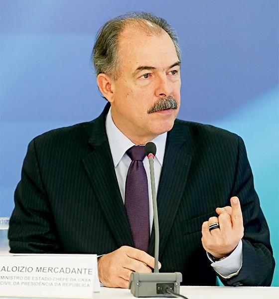 O ministro da Casa Civil, Aloizio Mercadante (Foto: Pedro Ladeira/Folhapress)
