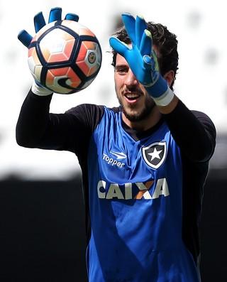 Helton Leite Botafogo (Foto: Vitor Silva / SSpress / Botafogo)