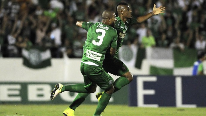 Gol Leandro Amaro, Guarani x ASA (Foto: Rodrigo Villalba/ Memory Press)