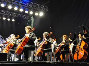 Orquestra Sinfônica Jovem da Paraíba (Foto: Roberto Guedes/Secom-PB)