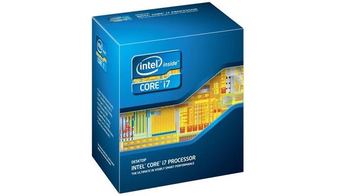 Intel Core i7-3820, que usa arquitetura Sandy Bridge (Foto: Divulgação)