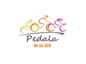 Logotipo oficial do passeio Pedala Rio Sul-Sesi (Foto: Arte/TV Rio Sul)