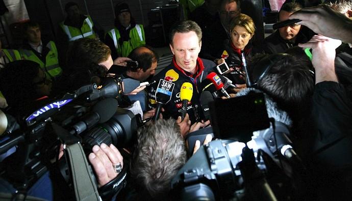 Christian Horner entrevista coletiva (Foto: Getty Images)