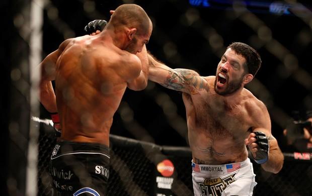 Matt Brown x Mike Swick UFC MMA (Foto: Getty Images)