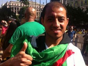 Mohamed Moulkaf, da Argélia (Foto: Flávia Mantovani/G1)