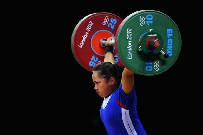 Hidilyn Diaz levantamento de peso Filipinas Londres 2012 (Foto: Getty Images)