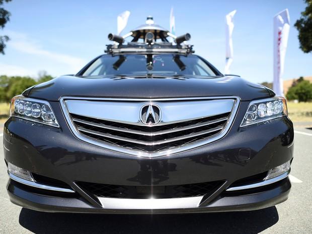 Honda testa carros que andam sozinhos na Califórnia  (Foto: REUTERS/Noah Berger)