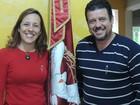 'É gratificante ver os devotos beijarem essa bandeira', diz festeiro