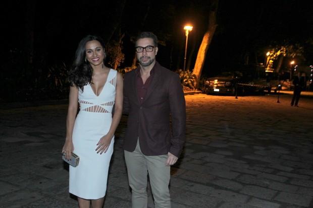 Thaissa Carvalho e Fernando Torquatto (Foto: Marcello Sá Barretto / AgNews)