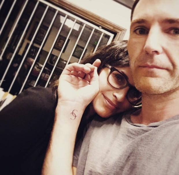 Courteney Cox e Johnny McDaid (Foto: Instagram/Reprodução)