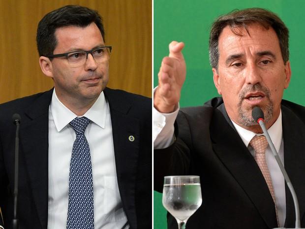 Paulo Caffarelli e Gilberto Occhi (Foto: Wilson Dias/Agência Brasil)
