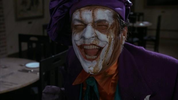 O Coringa de Jack Nicholson (Foto: Reprodução)