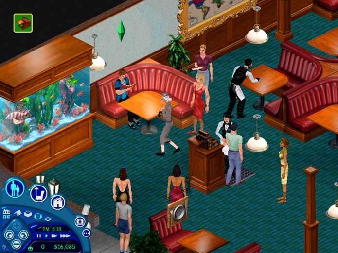 The Sims, clássico da EA (Foto: Reprodução/SimUniverse)