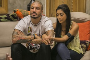 Fernando e Amanda (Foto: Paulo Belote/ TV Globo )
