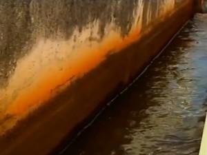 Bacias que captam água em Para de Minas são desligadas por falta de água (Foto: Repro)