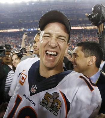 Peyton Manning denver broncos super bowl 50 nfl (Foto: Reuters)