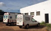 Apenas uma ambulância na cidade (Junior Freitas/G1)