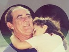 Lívian Aragão posta homenagem ao pai, Renato, em rede social