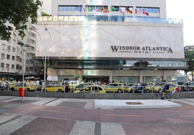 Hotel Windsor Atlântica na praia de Copacabana, no Rio de Janeiro (Foto: Reprodução/Facebook)