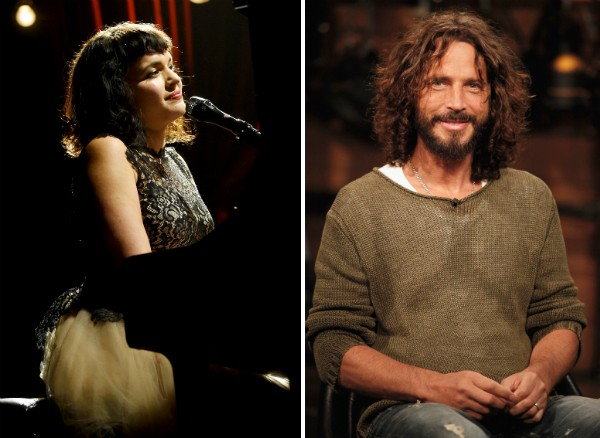 Norah Jones e Chris Cornell (Foto: Getty Images)
