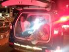 Capitã da PM tem carro roubado e casal é preso suspeito do crime na BA