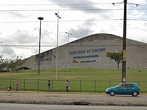 Centro de Convenções de PE (Foto: Vanessa Bahé/G1)