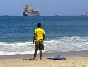 Thibério Menezes diz que ondas não estavam favoráveis (Foto: Divulgação)