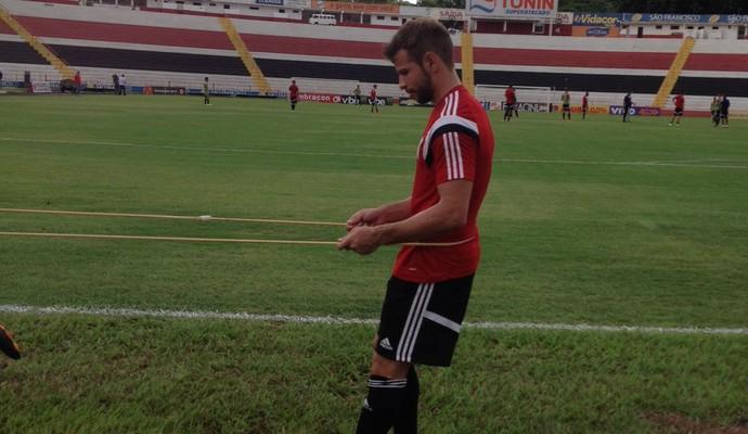 Diogo Campos, Botafogo-SP (Foto: Cleber Akamine)