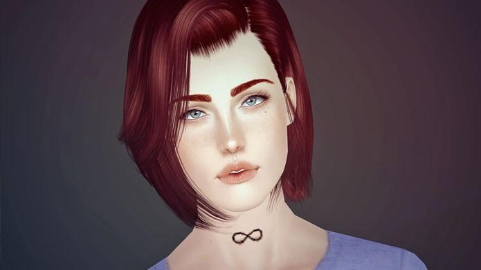 Baixe mods de cabelo para ter cortes personalizados (Foto: Reprodução/Mods The Sims)