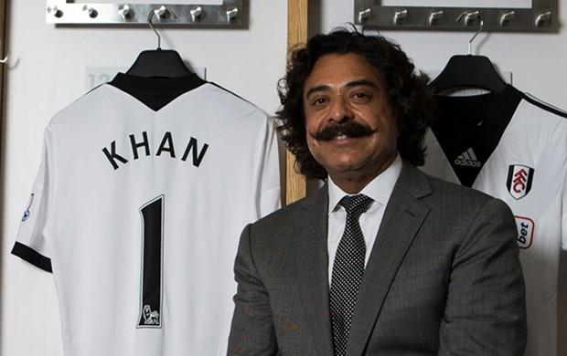 Shahid Khan fulham (Foto: Divulgação/Site Oficial Fulham)