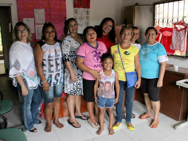 Cerca de 900 mulheres ja passaram pela associação, desde a fundação (Foto: Jamile Alves/G1 AM)