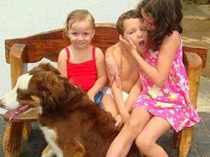 Cahorro tratamento criança Uberlândia (Foto: Arquivo Pessoal/ Karolina Cordeiro)