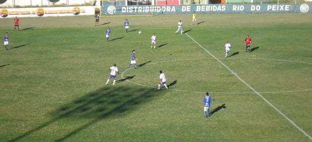 Atlético-PB vence Cruzeiro-PB e os dois times lideram a Chave do Sertão (Foto: Divulgação / Cruzeiro de Itaporanga)