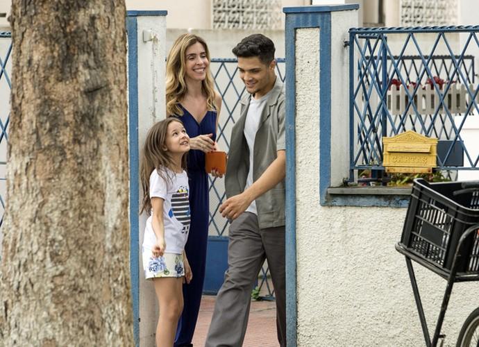 Kiki surge em casa bancada pela facção criminosa (Foto: Felipe Monteiro/ Gshow)