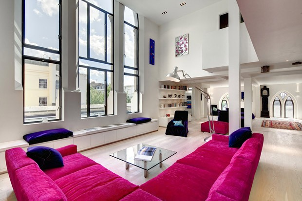 Sala De Estar Cor De Rosa ~ Décor do dia é corderosa choque  Casa Vogue  Interiores