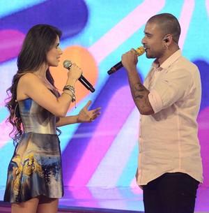 Paula Fernandes faz duetos incríveis! (TV Globo/ Ellen Soares)