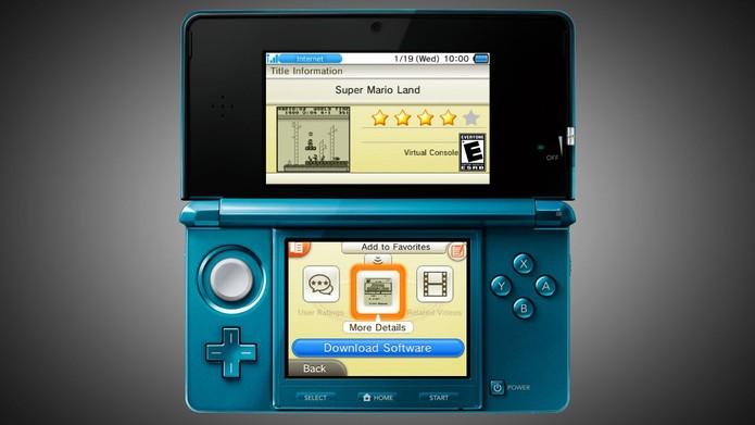 Usar a eShop do 3DS é fácil e intuitivo (Foto: Divulgação) (Foto: Usar a eShop do 3DS é fácil e intuitivo (Foto: Divulgação))